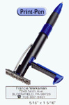 Print-pen is a ballpoint pen with a custom stamp. Highly used in the medical field and by inspectors. COSCO 2000 plus