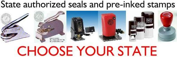 Notary Products,Engineer seals corporate seal notary stamps, engineer stamps, corporate stamps, selfinking, embossing seals desk seals, perfectseals, heavy duty seals, cast iron seals,