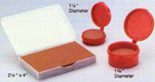 Stone stamp pads for the most difficult industrial uses and inks. Multiple sizes available.